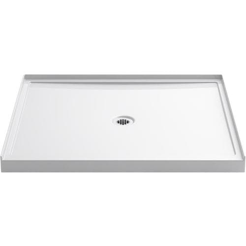 Kohler Rely White Acrylic Shower Base 42 In W X 48 L With Center Drain At Lowes