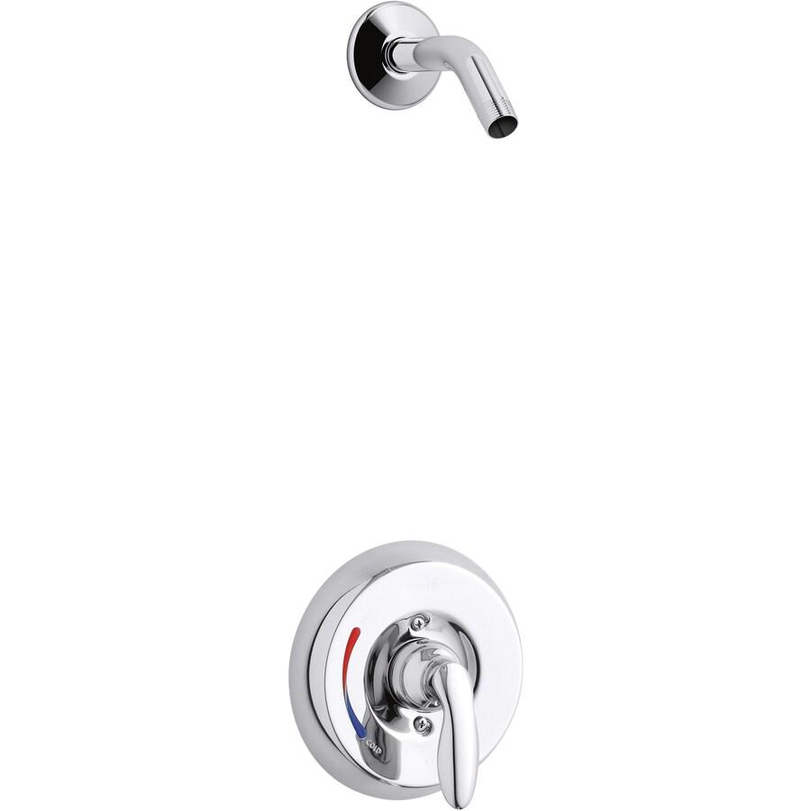 Kohler Coralais Shower Faucet Parts: KOHLER Coralais Polished Chrome 1-Handle Shower Faucet At