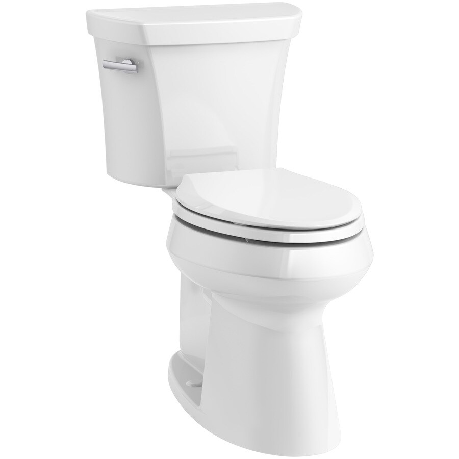 Kohler Highline White Watersense Labeled Elongated Chair