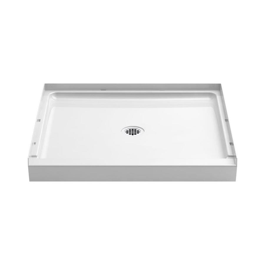 Sterling Guard+ White Vikrell Shower Base (Common: 36-in W x 34-in L; Actual: 36-in W x 34-in L)