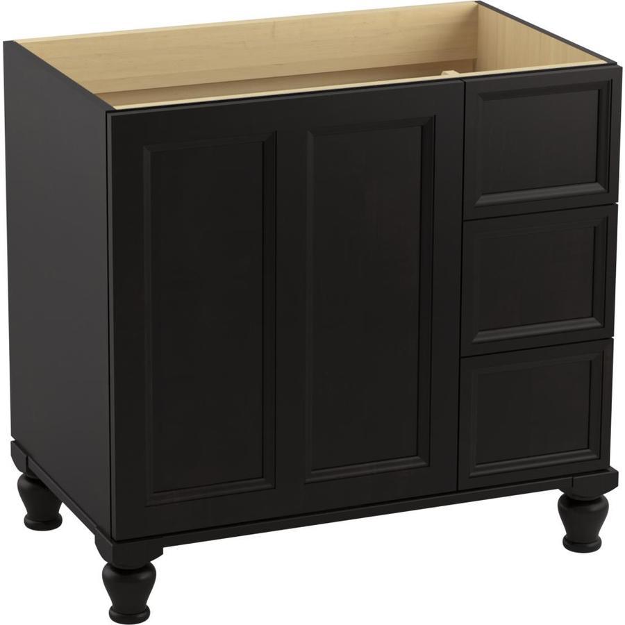 kohler damask batiste black 367500 traditional bathroom