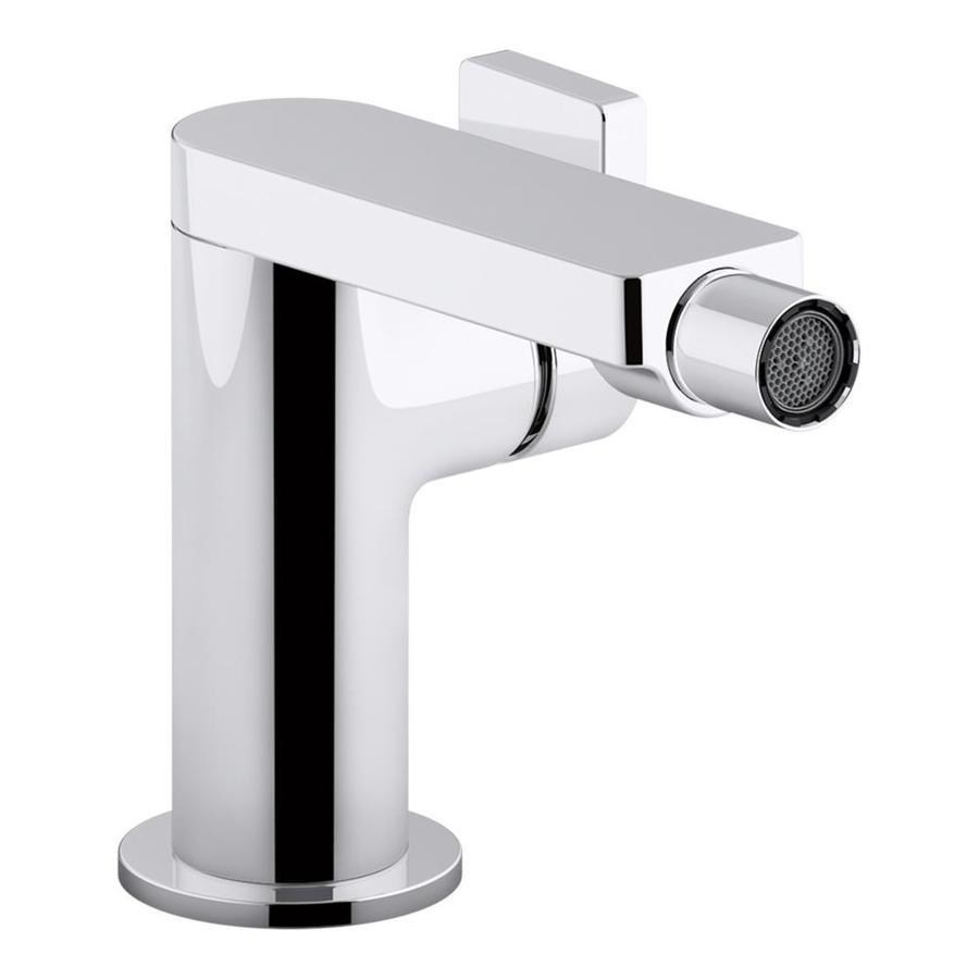 KOHLER Composed Polished Chrome 1-Handle Single Hole Bathroom Sink Faucet