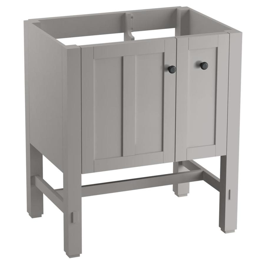 KOHLER Tresham Mohair Grey 30-in Contemporary Bathroom Vanity