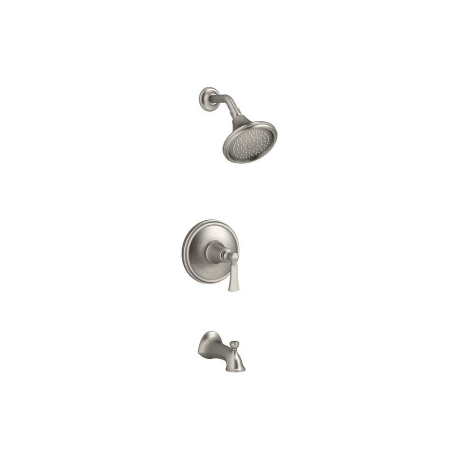 KOHLER Elliston Polished Chrome 1-Handle Bathtub and Shower Faucet with Single Function Showerhead
