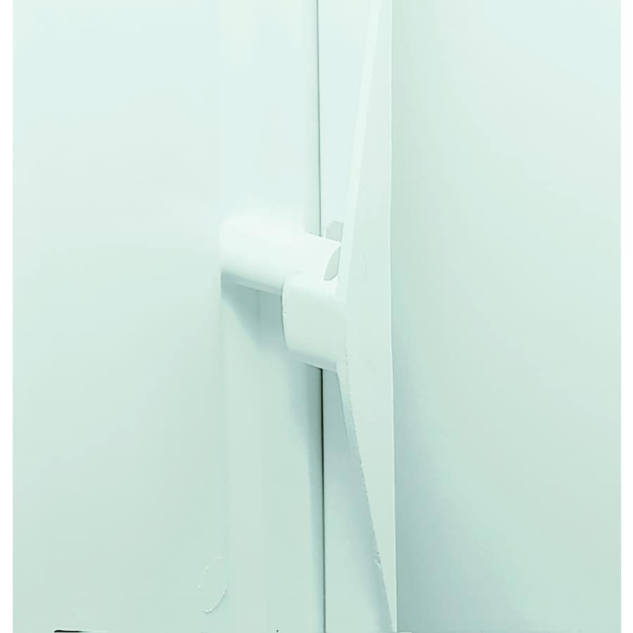 Sterling STOREplus White Shower Wall Surround Back Panel (Common: 36-in x 3-in; Actual: 72.5-in x 36-in x 3-in)