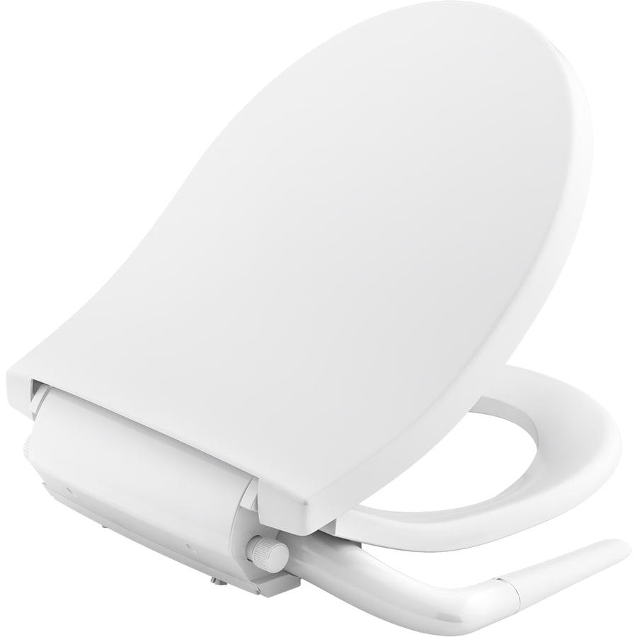 Kohler Puretide Plastic Round Slow Close Bidet Toilet Seat