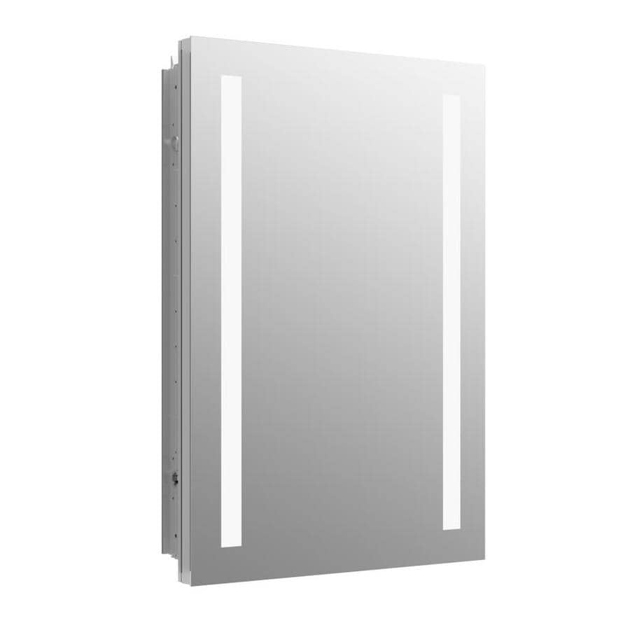 Etonnant KOHLER Verdera 20 In X 30 In Rectangle Recessed Aluminum Mirrored Medicine  Cabinet With