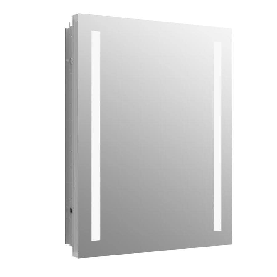KOHLER Verdera 24 In X 30 In Rectangle Surface/Recessed Aluminum Mirrored  Medicine