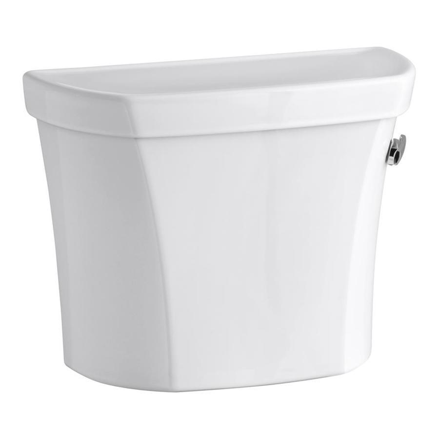 KOHLER Wellworth White 1.28-GPF Single-Flush High-Efficiency Toilet Tank