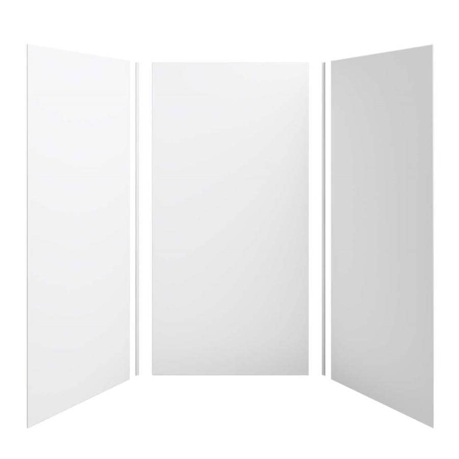 KOHLER Choreograph White Shower Wall Surround Side and Back Panels (Common: 48-in x 48-in; Actual: 96-in x 48-in x 48-in)