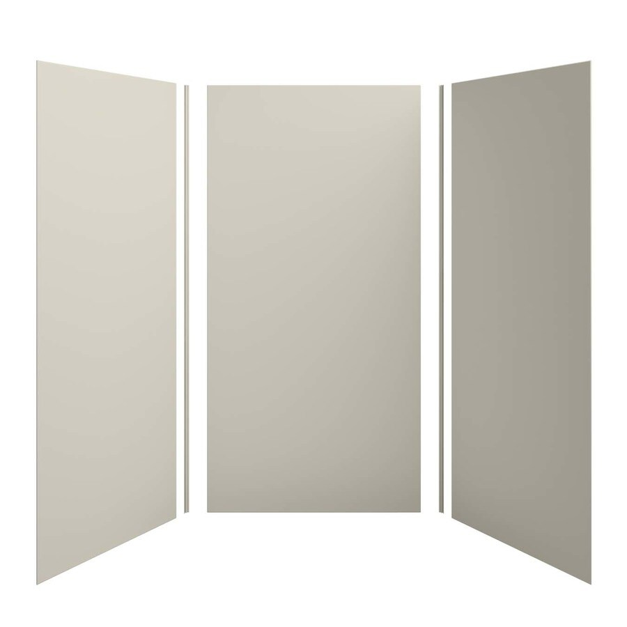 KOHLER Choreograph Sandbar Shower Wall Surround Side and Back Panels (Common: 48-in x 48-in; Actual: 96.0-in x 48.0-in x 48.0-in)