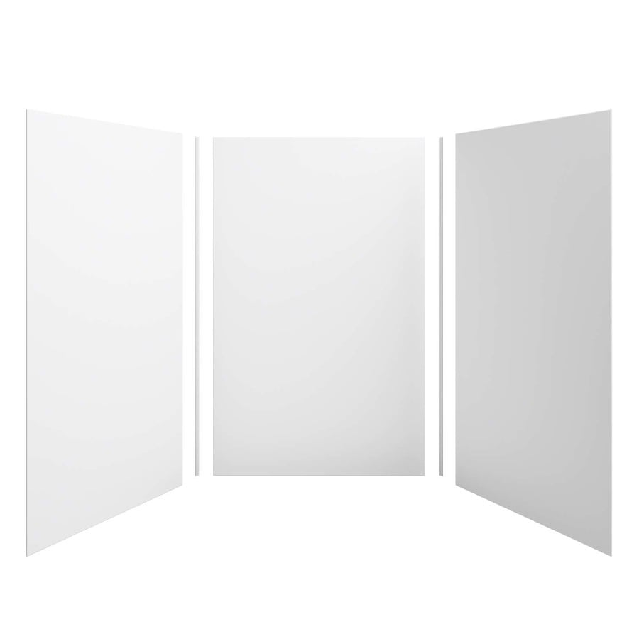 KOHLER Choreograph White Shower Wall Surround Side and Back Panels (Common: 60-in x 60-in; Actual: 96.0000-in x 60.0-in x 60.0000-in)
