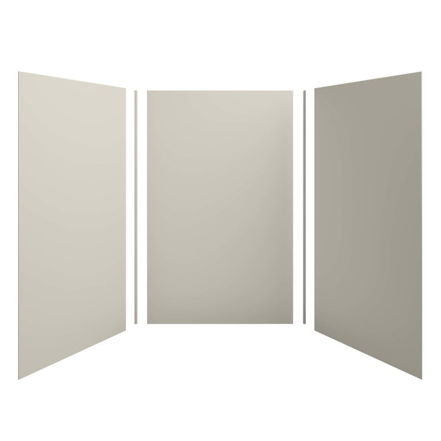 KOHLER Choreograph Sandbar Shower Wall Surround Side and Back Panels (Common: 60-in x 60-in; Actual: 96.0000-in x 60.0000-in x 60.0000-in)