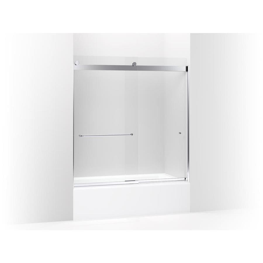 Kohler Levity Sliding Bath Door 62 In H X 56 5 8 59 5 8