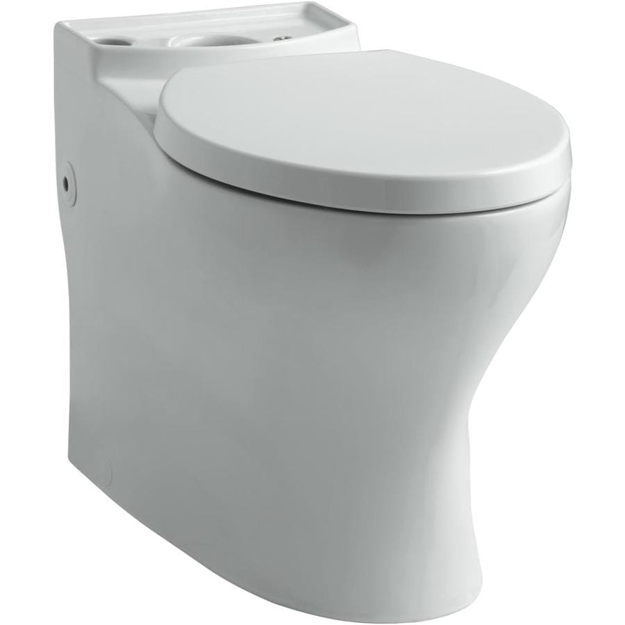 Kohler Persuade Ice Grey Elongated Chair Height Toilet
