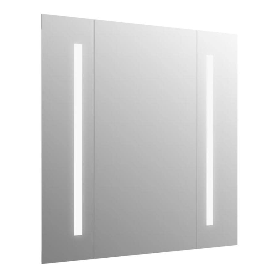 Shop KOHLER kohler Verdera 34-in Rectangular Lighted LED Bathroom ...