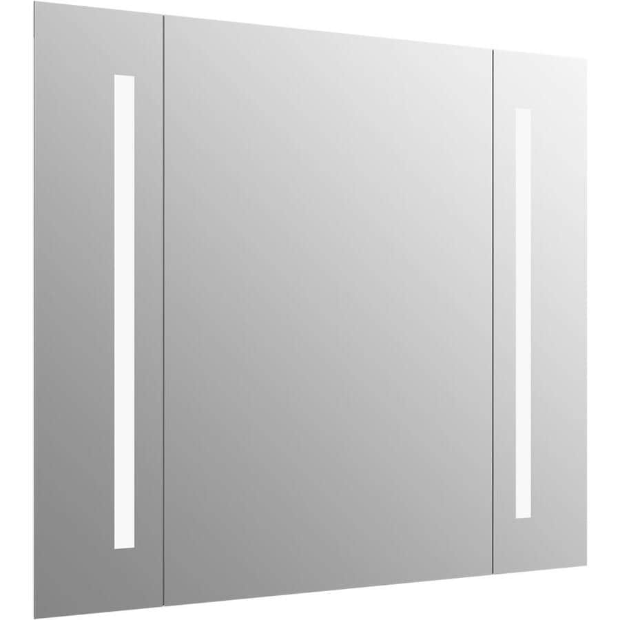 Shop KOHLER Kohler Verdera 40-in Rectangular Lighted LED Bathroom ...
