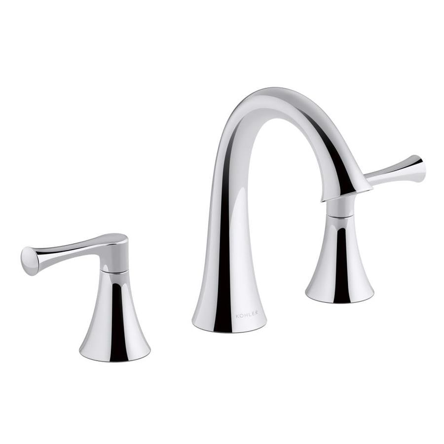 KOHLER Lilyfield Polished Chrome 2-Handle Widespread Bathroom Sink Faucet
