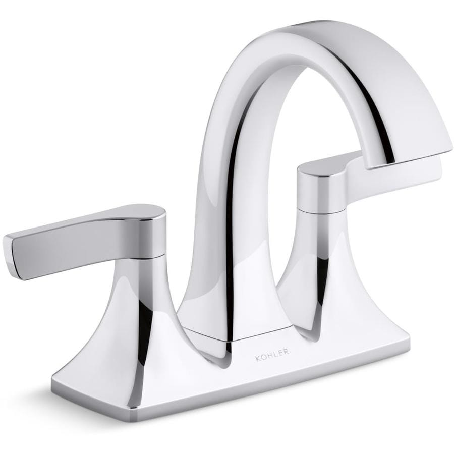 Kohler Maxton Polished Chrome 2 Handle 4 In Centerset Watersense