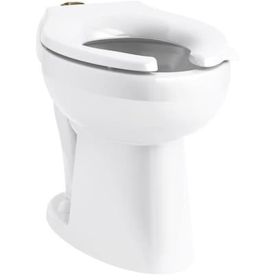 Fabulous Kohler Highcliff Ultra Ada Height Flushometer Bowl With Top Machost Co Dining Chair Design Ideas Machostcouk