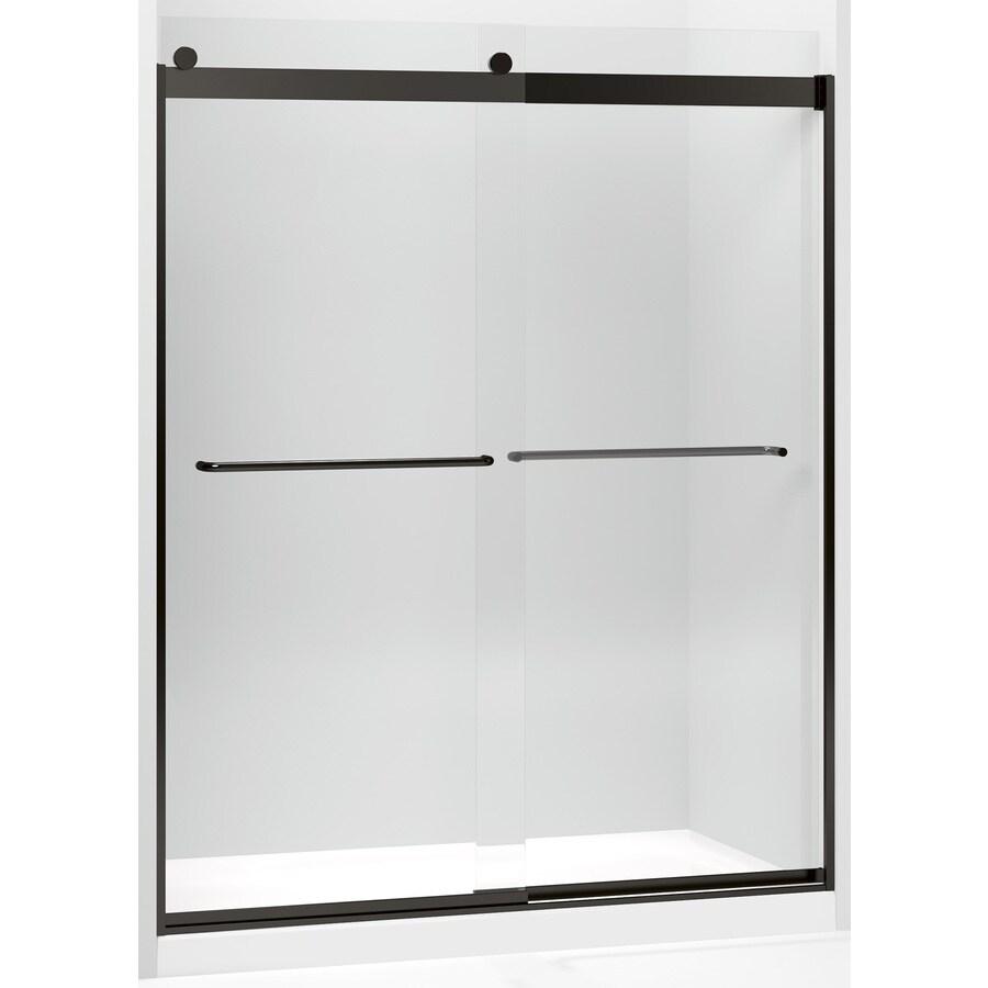 Kohler Levity Sliding Shower Door 74 In H X 56 5 8