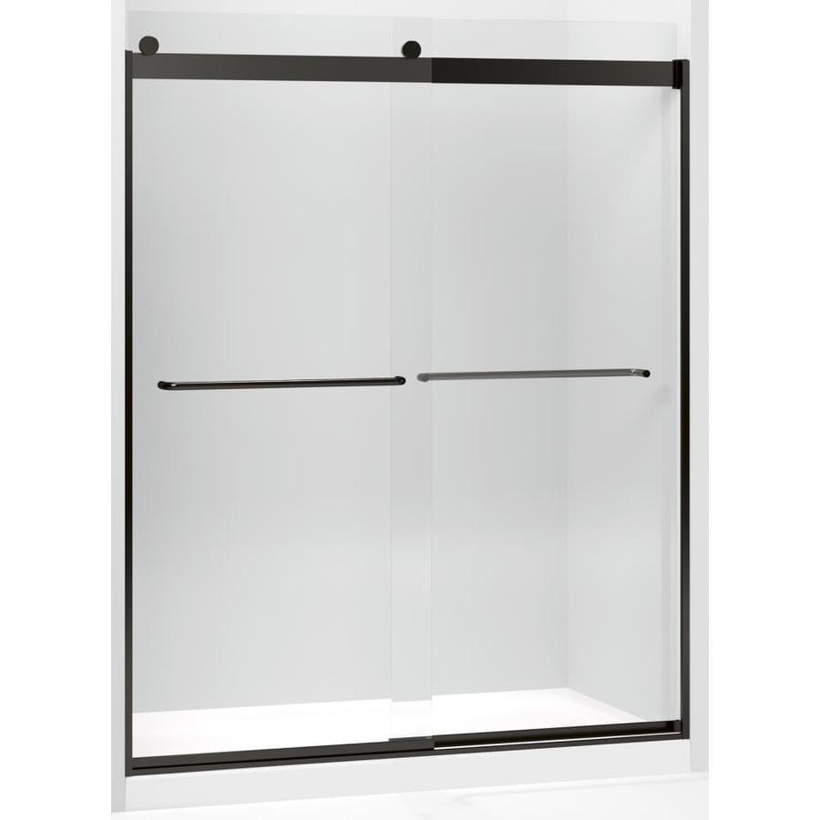 Shop Kohler Levity Sliding Shower Door 82 In H X 56 58 To 59 58