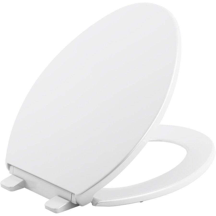 Kohler Brevia Plastic Elongated Slow Close Toilet Seat At