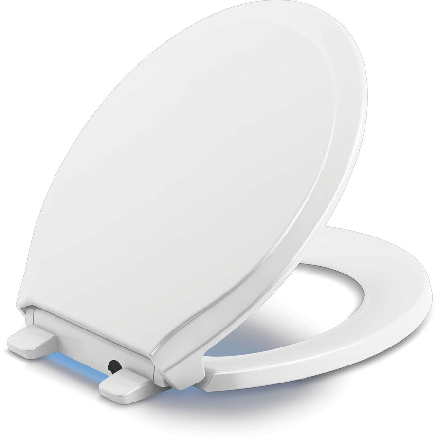 heated padded toilet seat. KOHLER Rutledge Plastic Round Slow Close Toilet Seat Shop at Lowes com