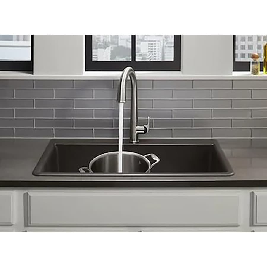 Black Kitchen Sinks At Lowes Com