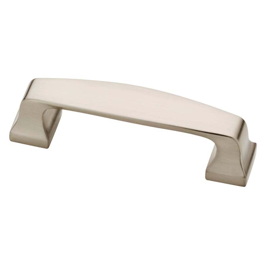 Liberty Hardware 3-in Center-to-Center Satin Nickel Bar Cabinet Pull