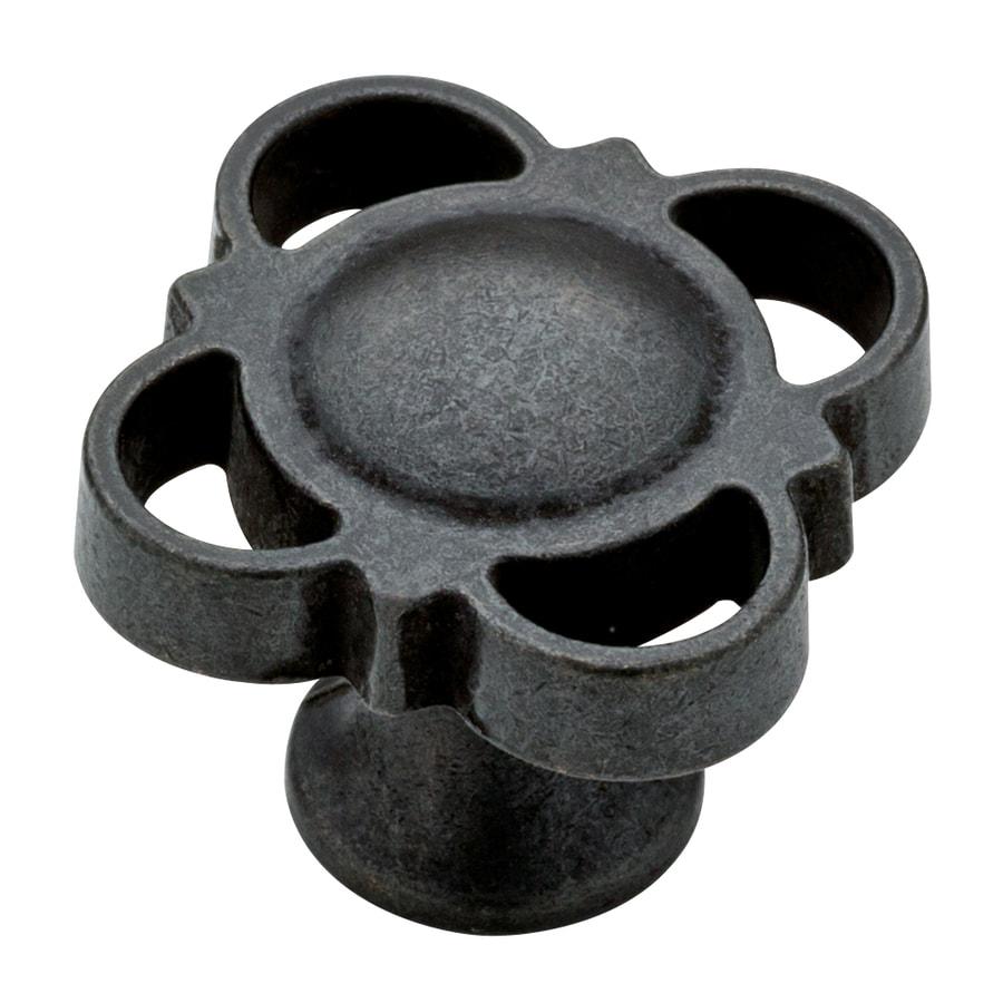 Brainerd Soft Iron Round Cabinet Knob