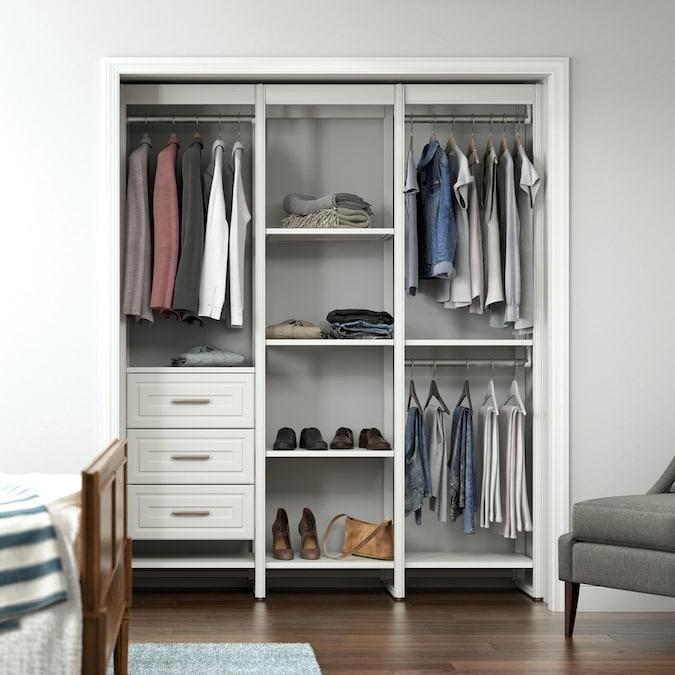Closets by Liberty Closet Storage 16.75-inD x 68.5-inW x ...