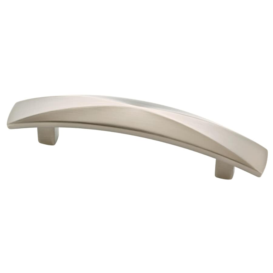 Brainerd 3-in Center-to-Center Satin Nickel Bar Cabinet Pull