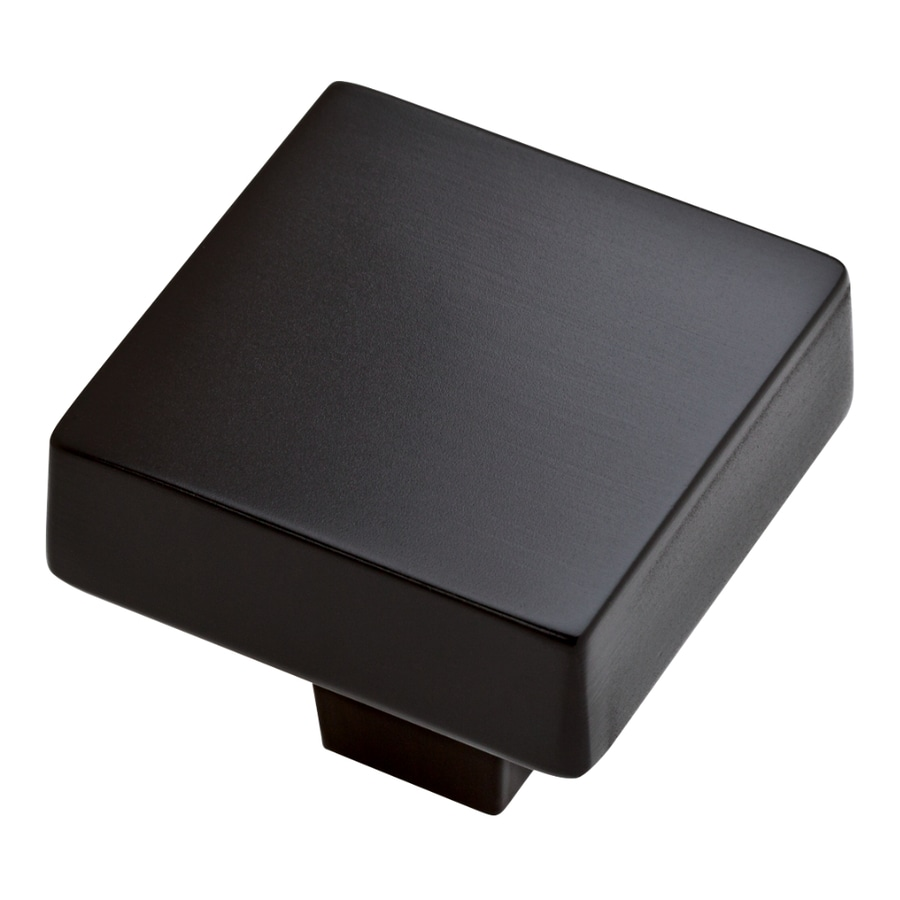 Merveilleux Brainerd Fashion Items Flat Black Square Cabinet Knob