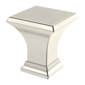 Brainerd Refined Square Collection Polished Nickel Square Cabinet Knob