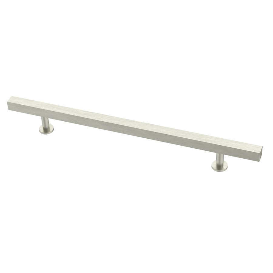 Brainerd Square Bar Pulls 192mm Center To Center Stainless Steel Cabinet  Pull