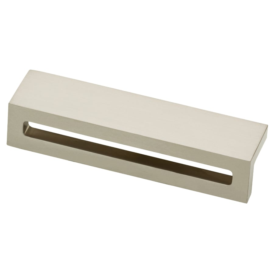 Motiv 96mm Center-to-Center Satin Nickel Rectangular Cabinet Pull