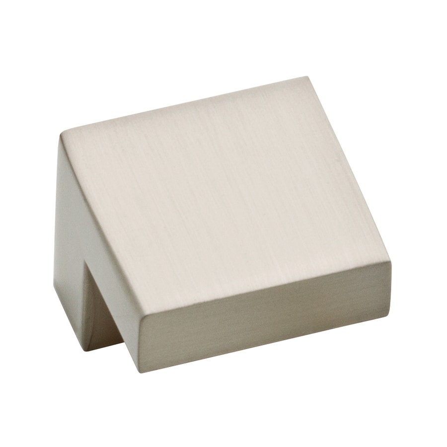 Motiv Satin Nickel Rectangular Cabinet Knob