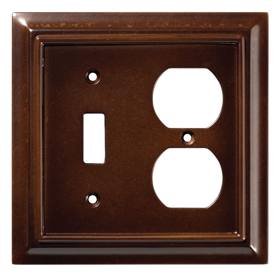 Brainerd Architectural 1 Espresso Single Toggle