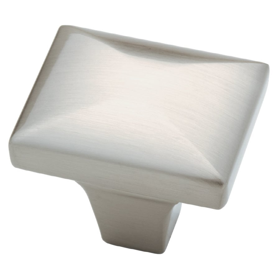 Brainerd Satin Nickel Square Cabinet Knob