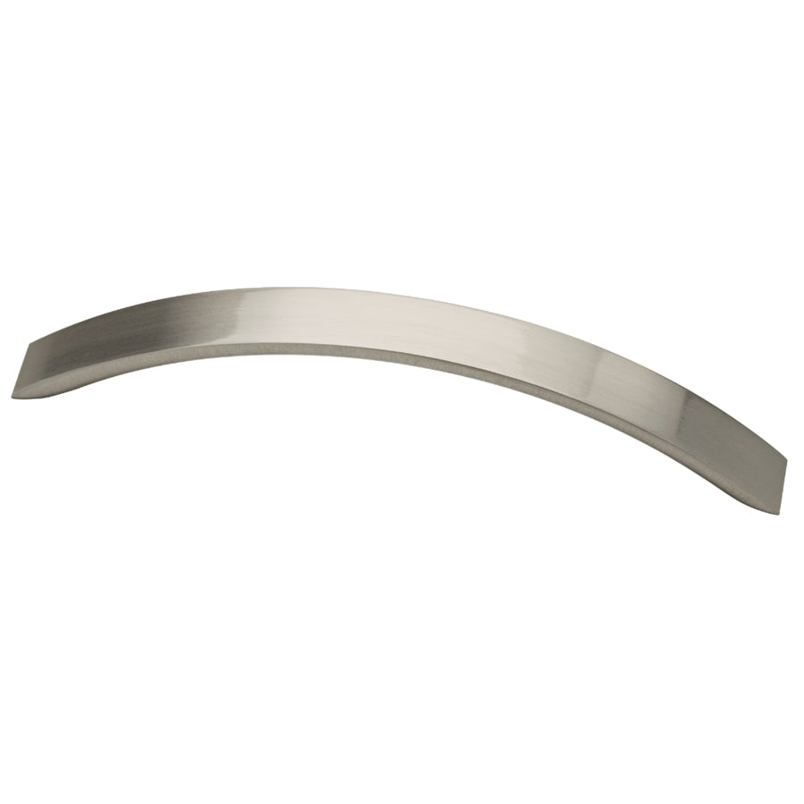 Brainerd 128mm Center-to-Center Satin Nickel Bar Cabinet Pull