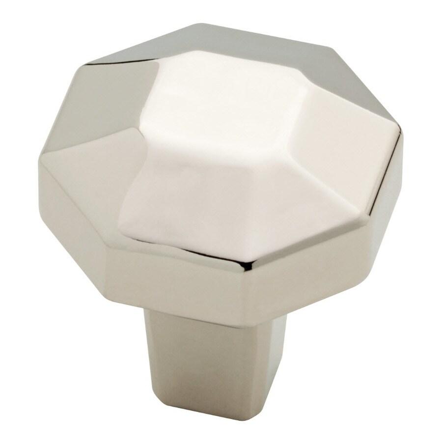 Brainerd Serafina Polished Nickel Octangular Cabinet Knob