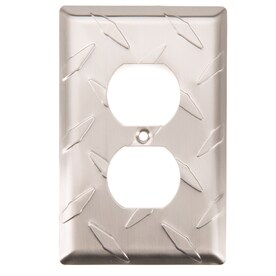 Diamond Plate Wall Plates At Lowescom