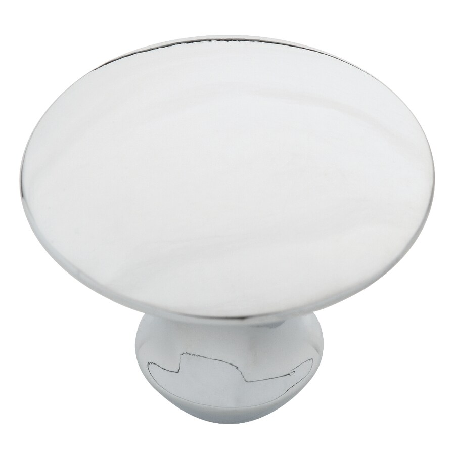 Motiv Barcelona Polished Chrome Round Cabinet Knob