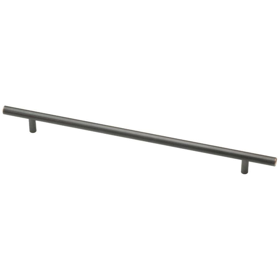 Motiv 288mm Center-to-Center Avante Bronze with Copper Highlights Bauhaus Bar Cabinet Pull
