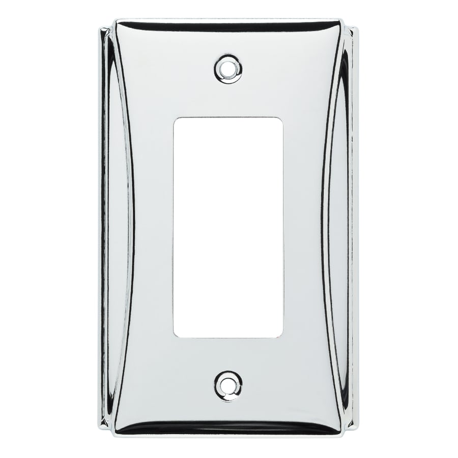 Shop brainerd upton 1 gang polished chrome single decorator wall brainerd upton 1 gang polished chrome single decorator wall plate amipublicfo Image collections