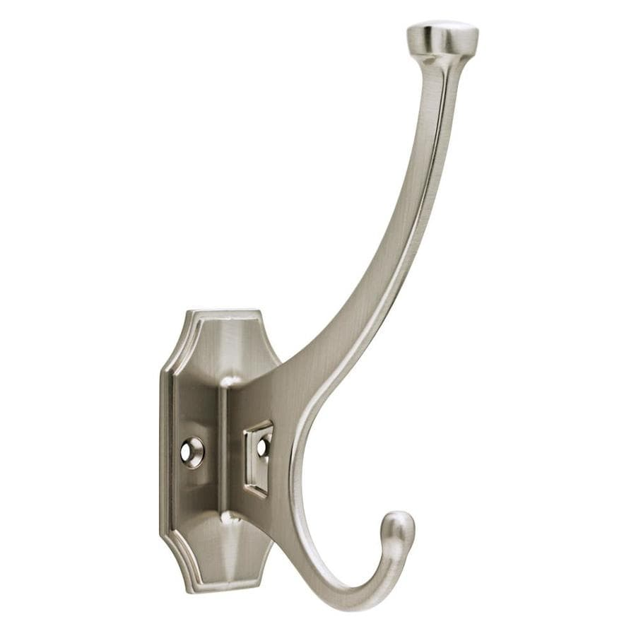 Brainerd Satin Nickel Garment Hook