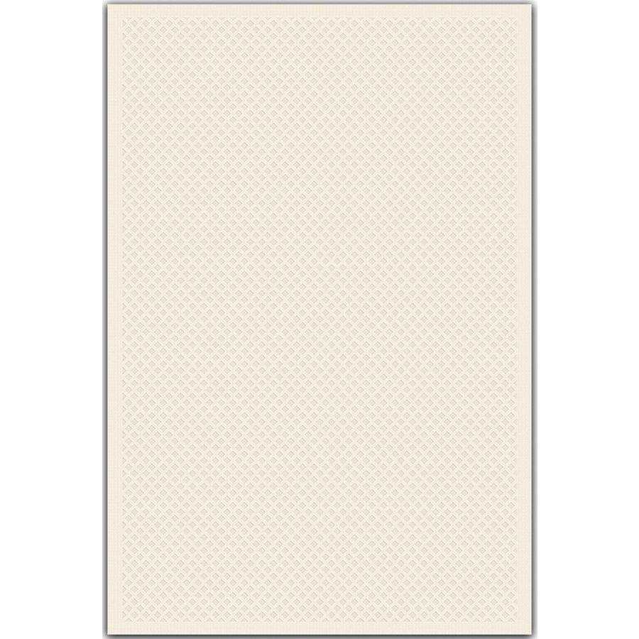 Regence Home Cheshire Rectangular Cream Geometric Indoor/Outdoor Woven Wool Area Rug (Common: 5-ft x 8-ft; Actual: 5-ft x 7.5-ft)