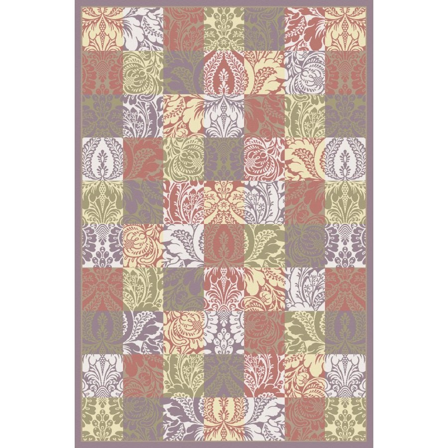 Regence Home Winchester Rectangular Multicolor Geometric Woven Area Rug (Common: 5-ft x 8-ft; Actual: 5-ft x 7.5-ft)