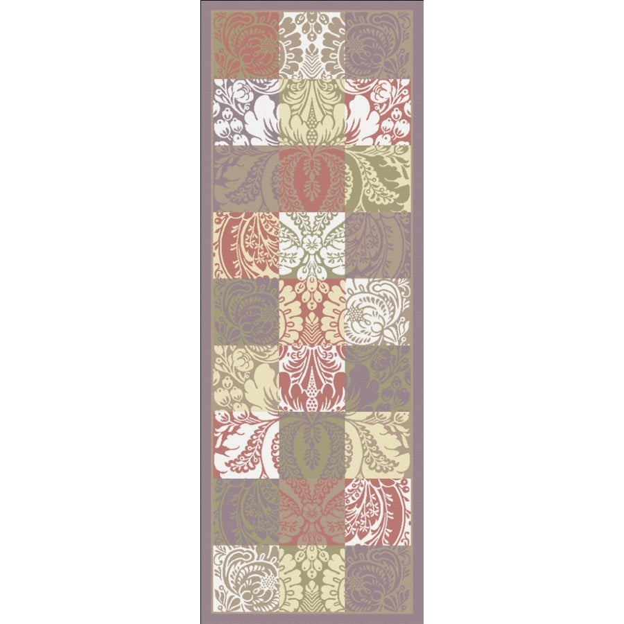 Regence Home Winchester Multicolor Woven Runner (Common: 2-ft x 7-ft; Actual: 2.166-ft x 6.916-ft)